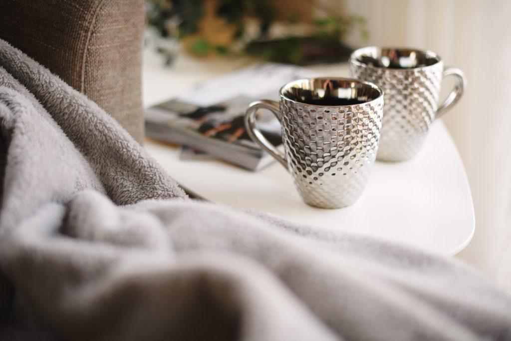 Cómo limpiar la plata - tazas de plata